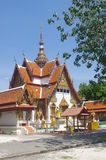 Thai Buddist Temple in Hatyai Stock Photos