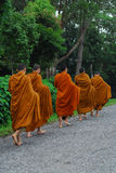 thai buddistisk monk Royaltyfri Fotografi