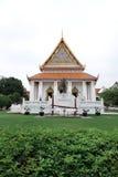 thai buddistiskt tempel Arkivbilder