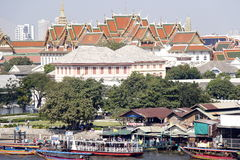 Thai building. Another view of thailand from what po temple Stock Photography