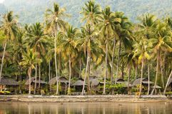 Thai bungalow resort Stock Images