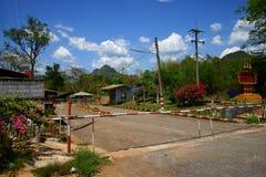 Thai-burmese kant Fotografering för Bildbyråer