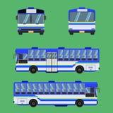 Thai bus blue sky yellow white transport car vehicle driver fare passenger autobus omnibus coach rail bench chair stool armchair s. Eat mattress bolster hassock royalty free illustration