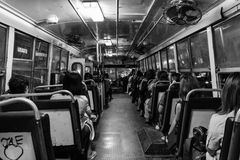 Thai Bus Stock Photo