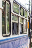 thai buss Arkivbild
