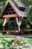 thai byggande Royaltyfri Fotografi