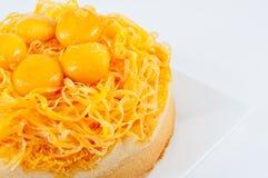 Thai cake desserts Stock Photos