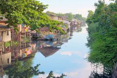 Thai canal Royalty Free Stock Photos