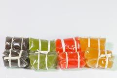 Thai caramel candy Stock Image