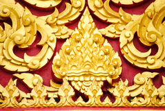 Thai carved Royalty Free Stock Photography