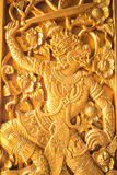 Thai carved Royalty Free Stock Image