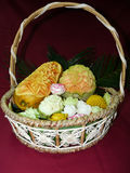 Thai carving fruit Royalty Free Stock Photography