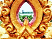 Thai carving Stock Image