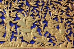 Thai carving Stock Photo