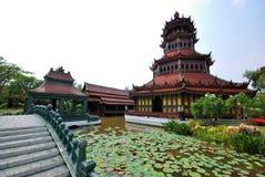 Thai castle Royalty Free Stock Photo