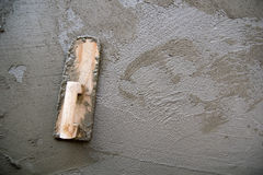 Thai cement working tool Royalty Free Stock Photo