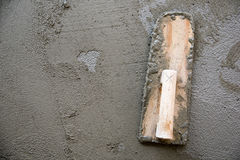 Thai cement working tool Royalty Free Stock Photos
