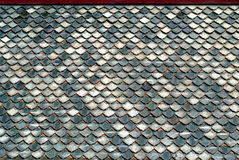 Thai ceramic roof#3 Royalty Free Stock Photos