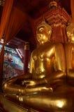 The sitting buddha Royalty Free Stock Photo