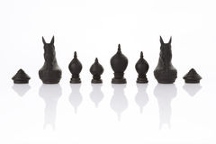 Thai chess, on white Royalty Free Stock Image