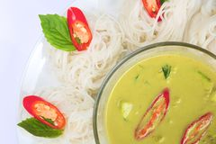 Thai chicken curry Stock Images