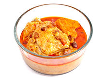 Thai chicken curry or Musmun Kai Royalty Free Stock Photo