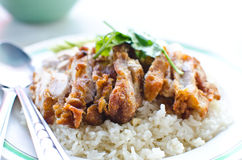 Thai chicken food. Stock Images