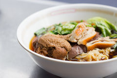 Thai chicken noodles Royalty Free Stock Image