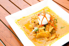 Thai Chicken Red  Curry Royalty Free Stock Photography