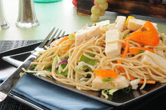 Thai chicken salad close up Royalty Free Stock Photography