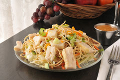 Thai Chicken Salad Royalty Free Stock Photography