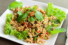 Thai chicken salad Stock Photos