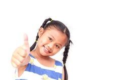 Thai children Isolated on white background Stock Photo
