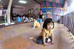 Thai children in kindergarten Royalty Free Stock Image