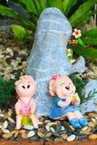 Thai children stucco Stock Photography