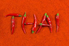 Thai chili Stock Photo