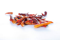 Thai chili peppers Royalty Free Stock Image