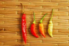 Thai chili peppers Stock Photo
