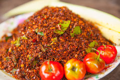 Thai Chili Salt Royalty Free Stock Photography