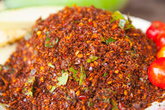 Thai Chili Salt Royalty Free Stock Images