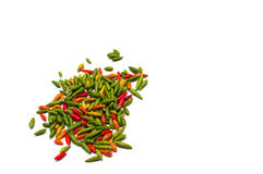 Thai chili spice. In group center Stock Image