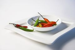 Thai chilies Stock Images