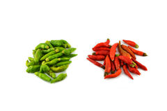 Thai chilli pepper Royalty Free Stock Photography