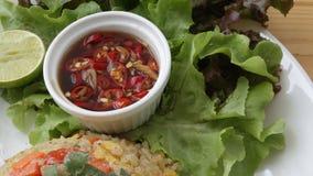Thai chilli sauce. stock images