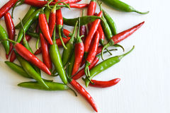 Thai chillies Stock Photography