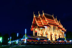 The thai church Royalty Free Stock Photography