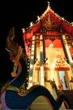 The thai church Stock Photos