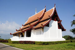 Thai Church. At Chieng-Rai Province stock photos