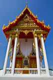 Thai church facade. Stock Photo