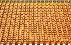 Thai church roof Royalty Free Stock Image